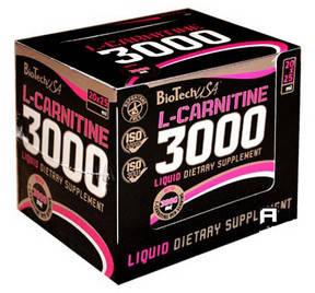 BT L-CARNITINE 3000 AMPULE 20 x 25мл - апельсин