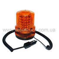 Проблесковый маячок, желтый 12-24 LED