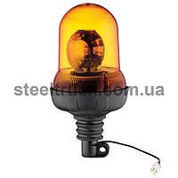 Проблесковый маячок, желтый 24 V (кронштейн)