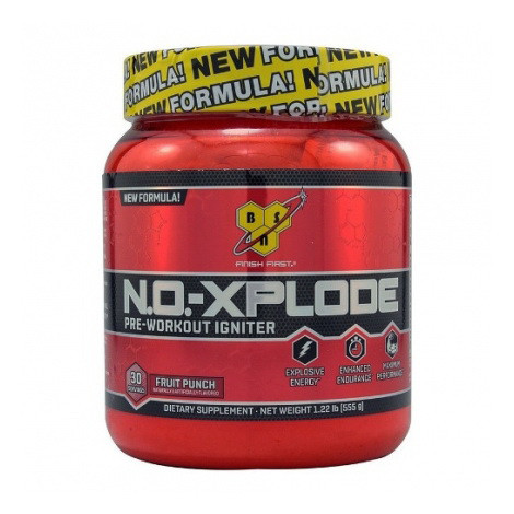 BSN N.O.-Xplode 3.3. 1,11 кг - fruit punch