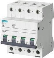 Автоматический выключатель Siemens Sentron  (400В, 6кA, 3P+N, B, 63A), 5SL6 663-6