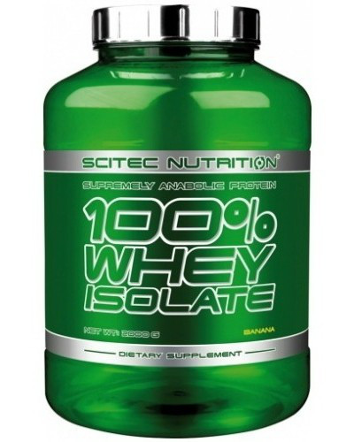SN 100% Whey Isolate 2000 г - banana