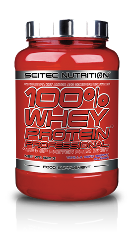 SN 100% Whey Protein Prof 920 г - vanilla very berry