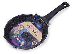 """Сковорода Kamille ETERNITY 24см из литого алюминия с антипригарным покрытием """"Space stars"""""""