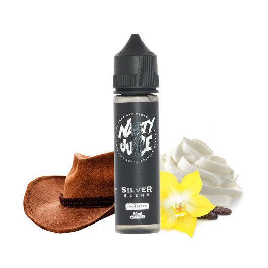 Премиум жидкость для электронных сигарет Nasty Juice Tobbaco Silver Blend 60 ml (clone)