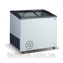 Морозильний лар Crystal Venus 26 SGL (гнуте скло)