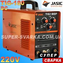 JASIC TIG-180p DC (w119) аргоновая сварка