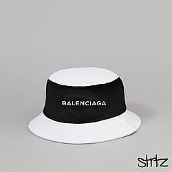 Панама Balenciaga белого и черного цвета (люкс копия)
