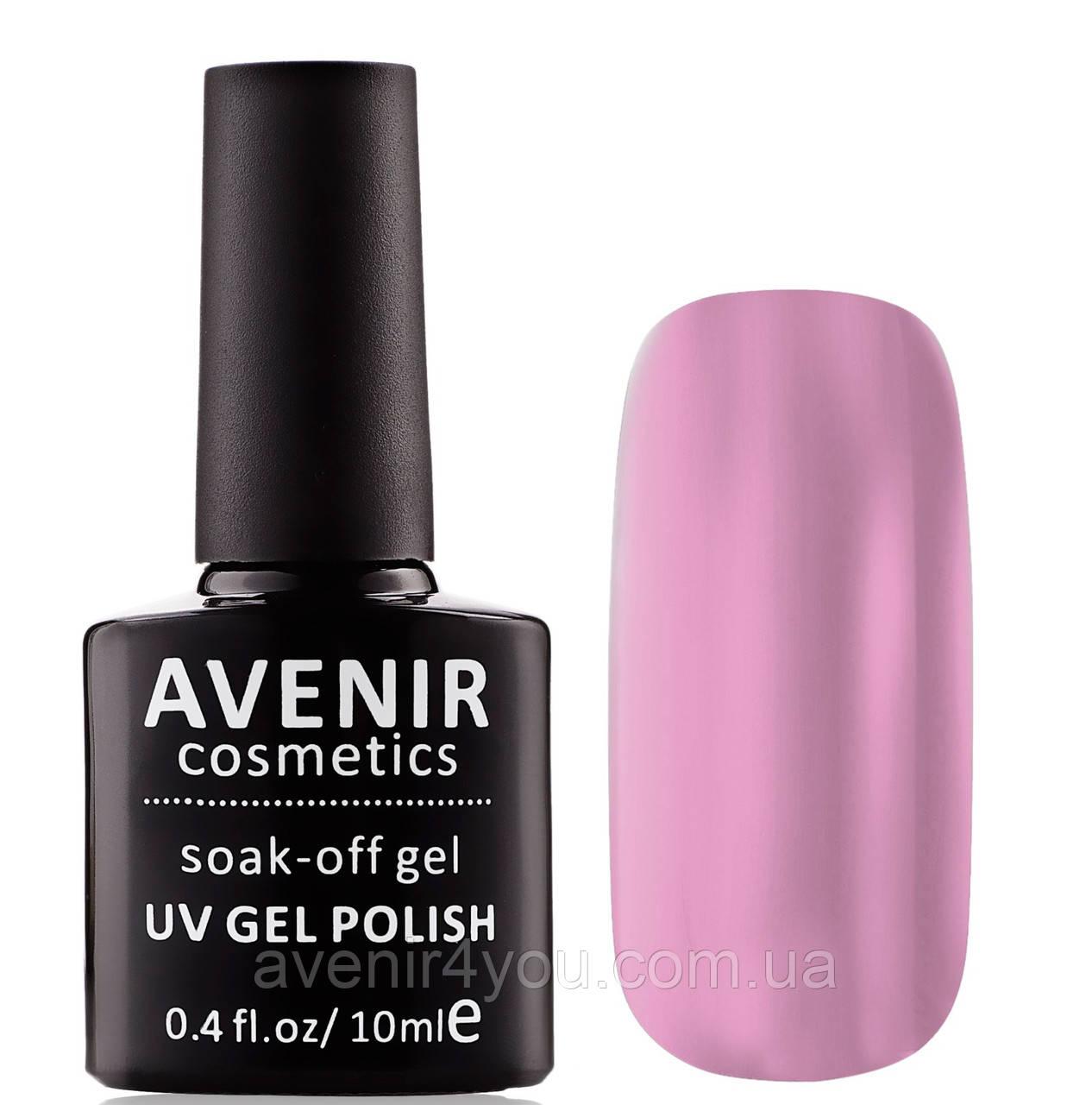 Гель-лак AVENIR Cosmetics №51.Нежно-розовая эмаль