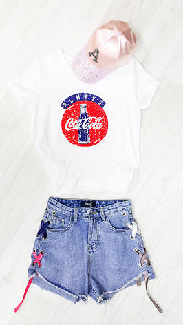 Футболка Coca-cola- 526-01, фото 2
