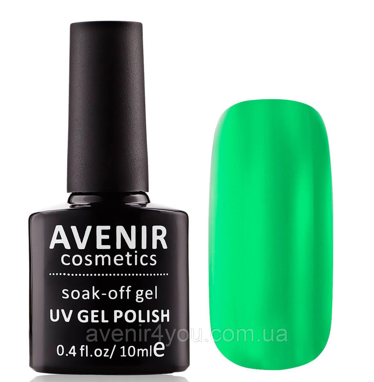 Гель-лак AVENIR Cosmeticsс №99. Зеленый неоновый