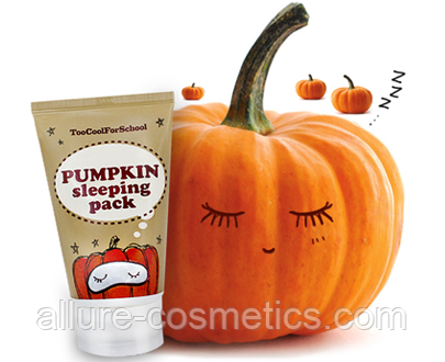 Ночная маска с экстрактом тыквы TOO COOL FOR SCHOOL Pumpkin Sleeping Pack 30мл
