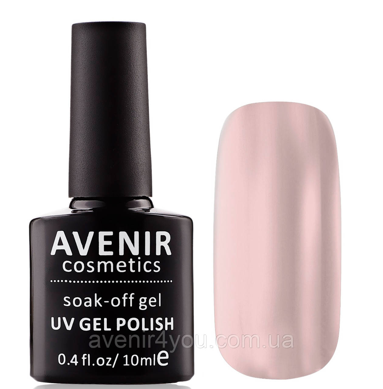 Гель-лак AVENIR Cosmetics №6. Бежевый полупрозрачный френч