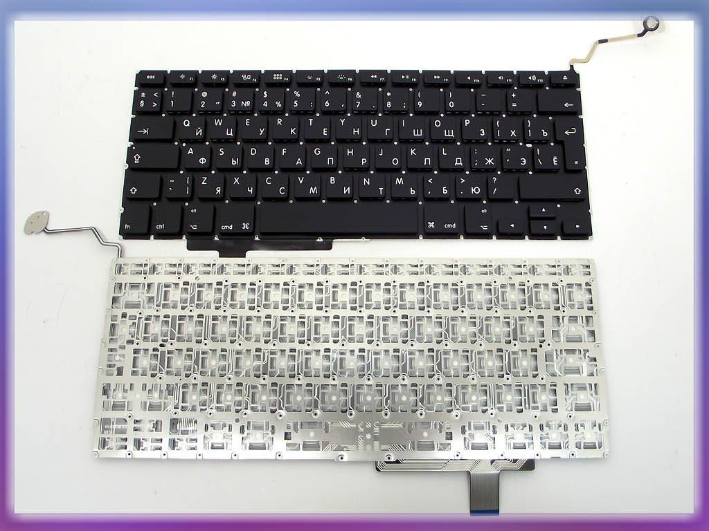 Клавиатура APPLE Macbook Pro A1297 (RU BLACK, Вертикальный Enter). ORI