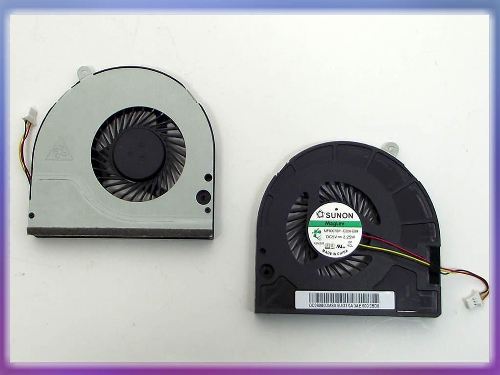 Вентилятор (кулер) ACER Aspire E1-530, E1-530G, E1-532, E1-570, E1-570