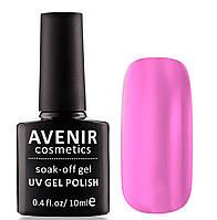 Гель-лак AVENIR Cosmetics №84.Светло-розовый полупрозрачный
