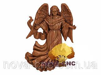 3D модель для фрезерных станков - ангелы 3