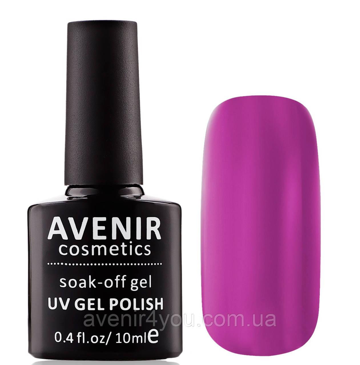 Гель-лак AVENIR Cosmetics №102. Сливовая фуксия
