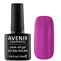 Гель-лак AVENIR Cosmetics №102. Сливовая фуксия, фото 1