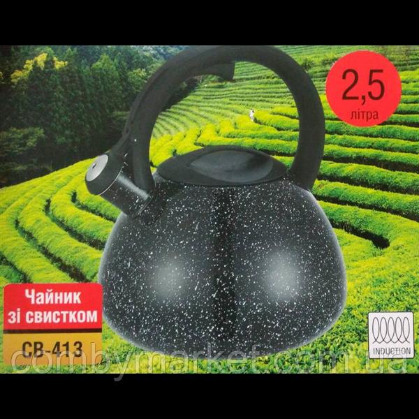 Чайник Con Brio СВ 413 черный