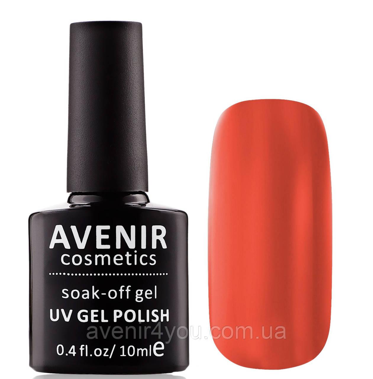 Гель-лак AVENIR Cosmetics №105.Темная морковь