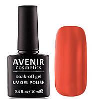 Гель-лак AVENIR Cosmetics №105.Темная морковь, фото 1