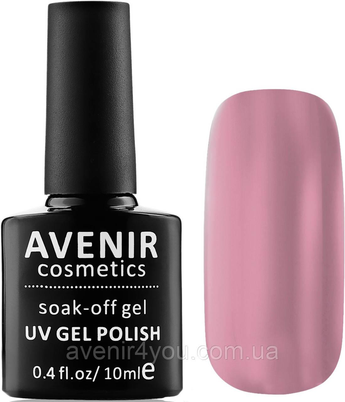 Гель-лак AVENIR Cosmetics №228. Рожево-бежева пастель