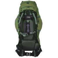 Рюкзак туристичний Terra Incognita Vertex 100 green / gray для пішого та гірського туризму, для екст