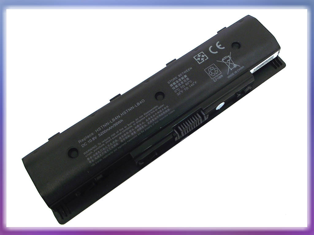 Аккмулятор HP (PI06) Pavilion 14-E Series (11.1V 4400mAh). Black
