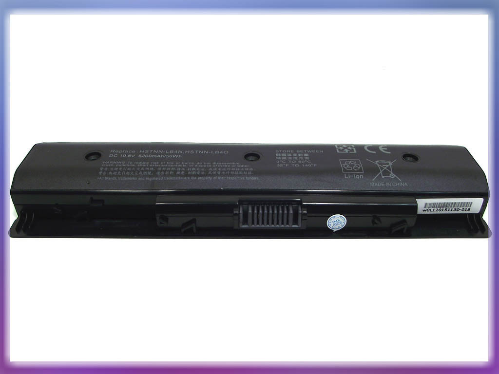 Аккмулятор HP (PI06) Pavilion 14-E Series (11.1V 4400mAh). Black 3
