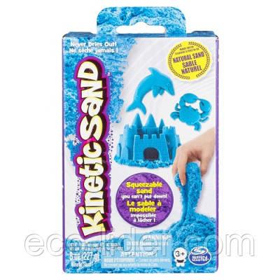 Песокдлядетскоготворчества-KINETICSANDNEON(голубой,227г)