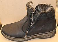 Ботинки мужские зимние больших размеров из натуральной кожи от производителя модель МВ-07, фото 1