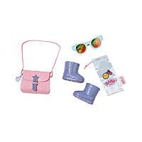 Набор аксессуаров для куклы Baby Born Прогулка Под Дождем Zapf 825488-2, фото 1