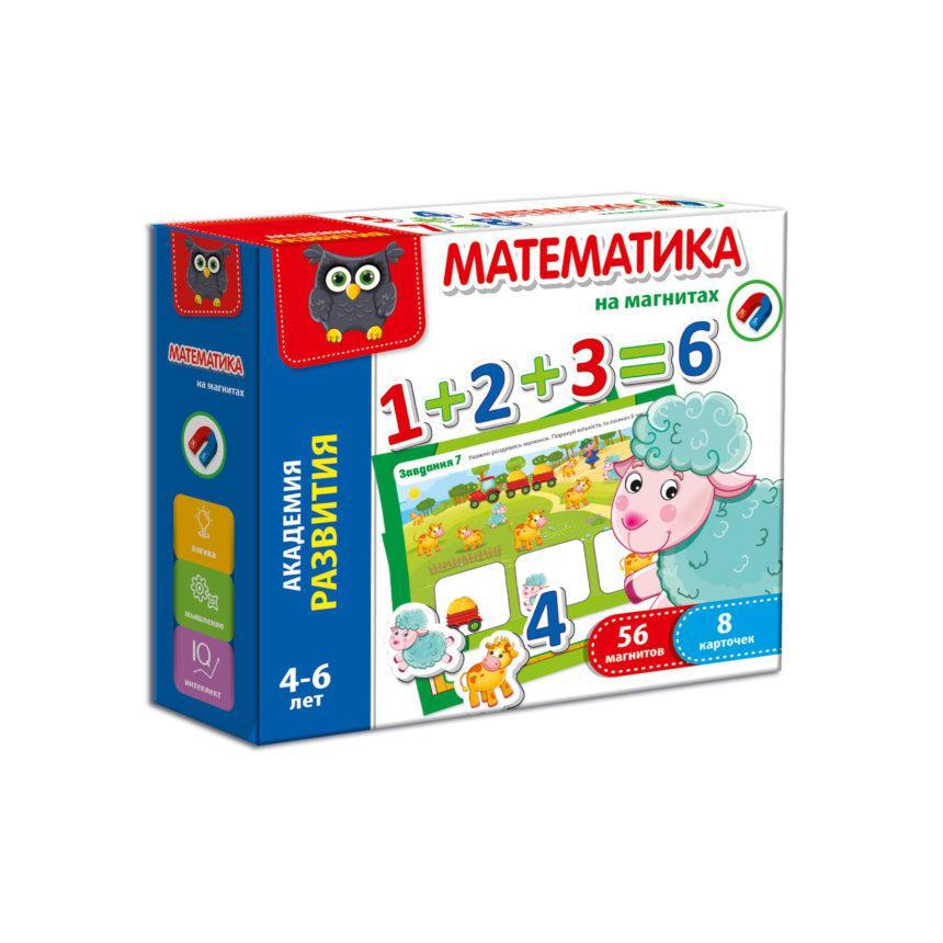 Математика на магнитах  укр  VT5411-04