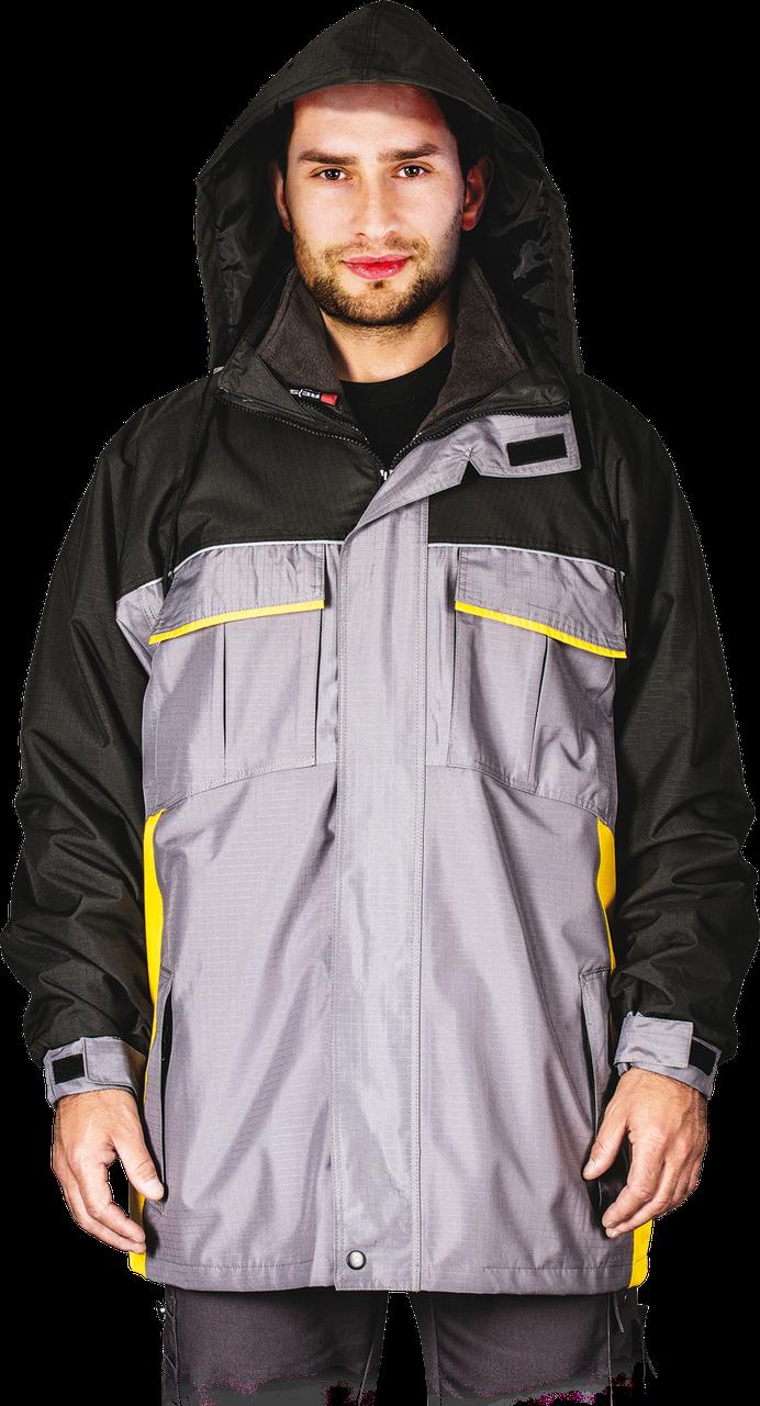 Куртка WIN-GREY SY рабочая с водоотталкивающей пропиткой Reis Польша (утепленная зимняя спеоцодежда)