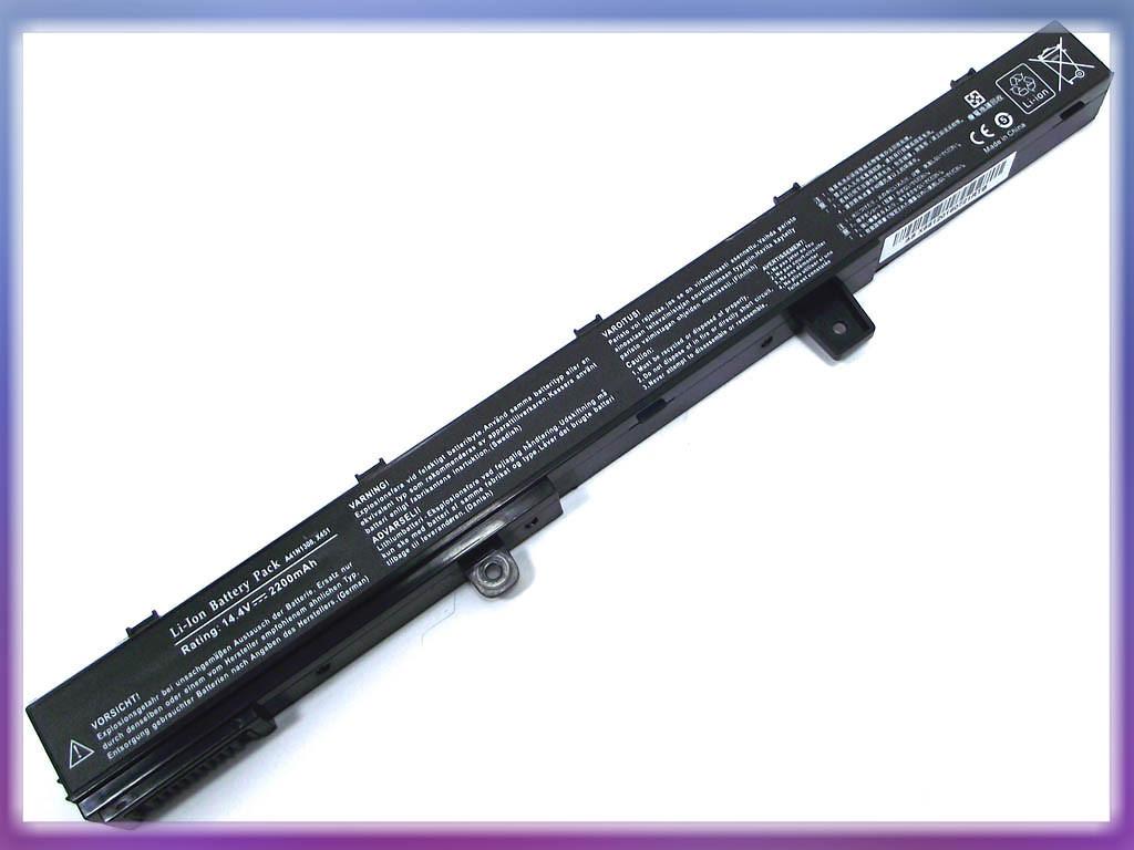 Аккумулятор ASUS (A41N1308) X451C (14.8V 2200mAh). Black.
