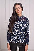 """Женская рубашка """" Цветы """" Dress Code, фото 1"""