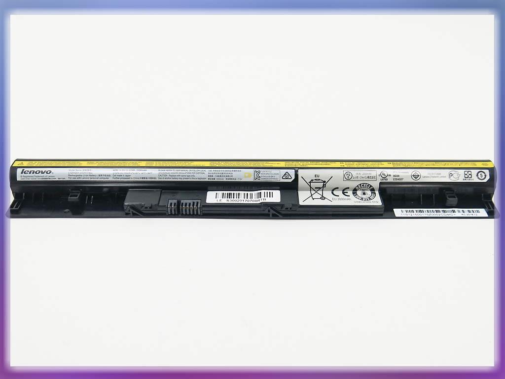 Батарея Lenovo IdeaPad S400u Series (14.8V 2500mAh)ORIGINAL. P/N: L12S 2