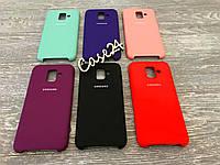 Чехол Soft touch для Samsung Galaxy A6 2018 (6 цветов)