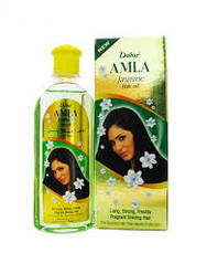 Масло Амла для волос с маслом жасмина Дабур, 200 мл