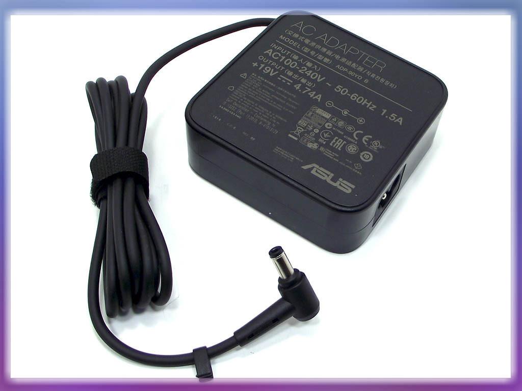 Блок питания ASUS 19V 4.74A 90W (5.5*2.5) ORIGINAL. Квадратный P/N: AD