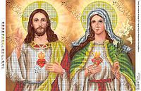 БКР-2037. Схема Св. Серце Ісуса та Непорочне Серце Марії.
