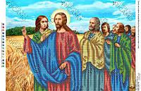 БКР-2049. Схема Бесіда Ісуса Христа з апостолами в полі.