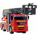 Іграшкова Пожежна машинка 31 см (світло, звук, бризкає водою) City Fire Engine Dickie 3715001, фото 2