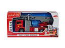Іграшкова Пожежна машинка 31 см (світло, звук, бризкає водою) City Fire Engine Dickie 3715001, фото 9