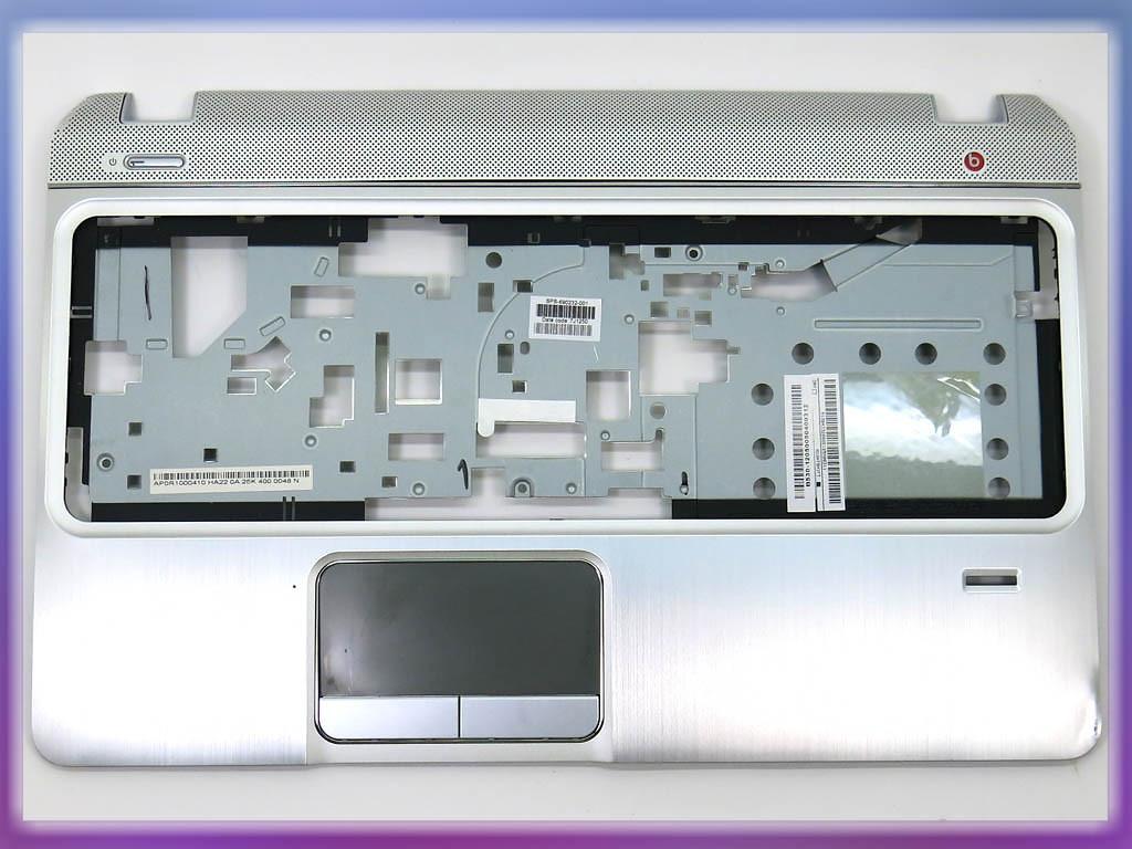 Уценка! Корпус для ноутбука HP envy M6-1000 Silver (Крышка клавиатуры)