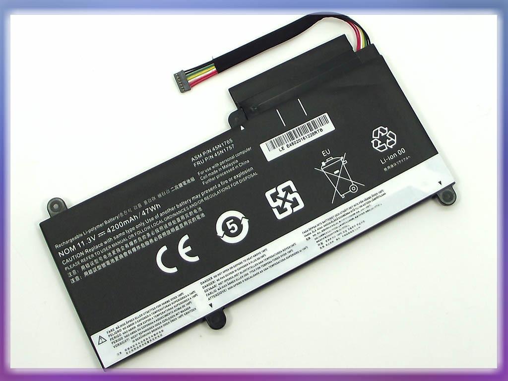 Батарея Lenovo ThinkPad E450C Series (11.3V 4200mAh) P/N: 45N1752 45N1