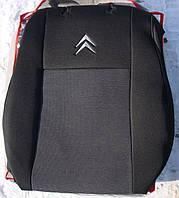 Авточехлы VIP CITROEN C3 2009→ автомобильные модельные чехлы на для сиденья сидений салона CITROEN Ситроен C3