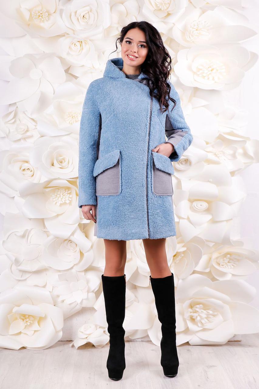 1afa2c82ccbff5 Зимнее женское стильное теплое пальто 44-54 размер.Зимове жіноче пальто