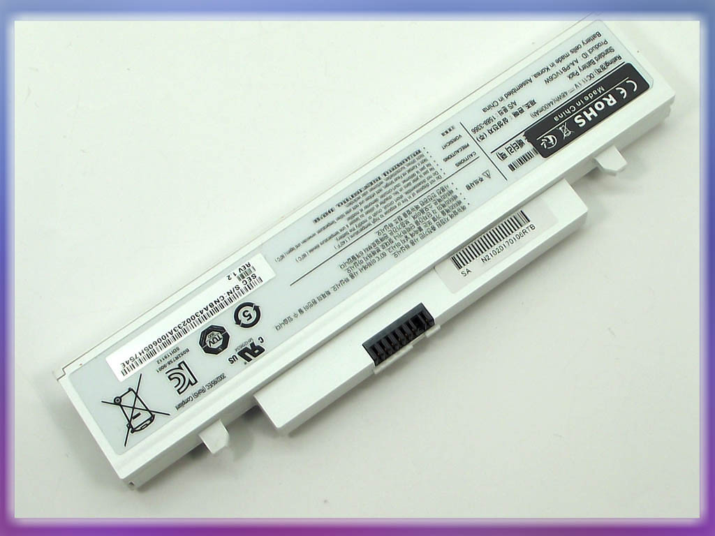 Аккумулятор Samsung N220 (11.1V 4400mAh White) ORIGINAL. (AA-PB1VC6B)